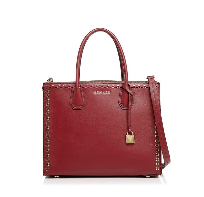 Item - Mercer Grommet Large Convertible Red Leather Tote