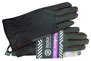 Isotoner NWT Isotoner Leather Touch Screen Gloves