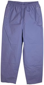 Columbia Pvc Waterproof Rain Athletic Pants Purple