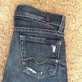 7 For All Mankind Ultra Destroyed Wash Distressed The Boot Cut Jeans Size 24 (0, XS) 7 For All Mankind Ultra Destroyed Wash Distressed The Boot Cut Jeans Size 24 (0, XS) Image 5