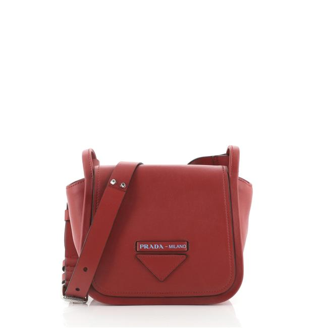 Item - Lux Grace Small Red Leather Cross Body Bag