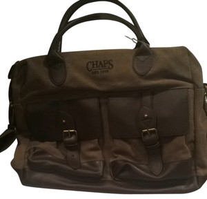 Chaps Brown Messenger Bag