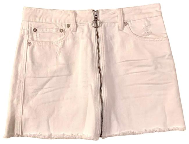 Item - White Nwot We The Zip Up Skirt Size 4 (S, 27)