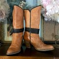 Miss Sixty Brown Leather Heeled Boots/Booties Size US 8.5 Regular (M, B) Miss Sixty Brown Leather Heeled Boots/Booties Size US 8.5 Regular (M, B) Image 3