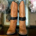 Miss Sixty Brown Leather Heeled Boots/Booties Size US 8.5 Regular (M, B) Miss Sixty Brown Leather Heeled Boots/Booties Size US 8.5 Regular (M, B) Image 4