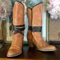 Miss Sixty Brown Leather Heeled Boots/Booties Size US 8.5 Regular (M, B) Miss Sixty Brown Leather Heeled Boots/Booties Size US 8.5 Regular (M, B) Image 5