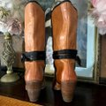 Miss Sixty Brown Leather Heeled Boots/Booties Size US 8.5 Regular (M, B) Miss Sixty Brown Leather Heeled Boots/Booties Size US 8.5 Regular (M, B) Image 6