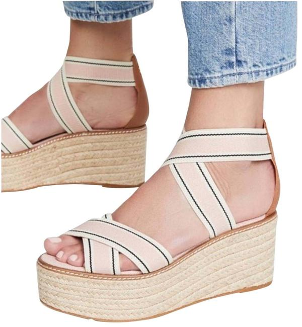 Item - Pink Frieda Espadrille Platform Strappy Sandals Size US 7.5 Regular (M, B)