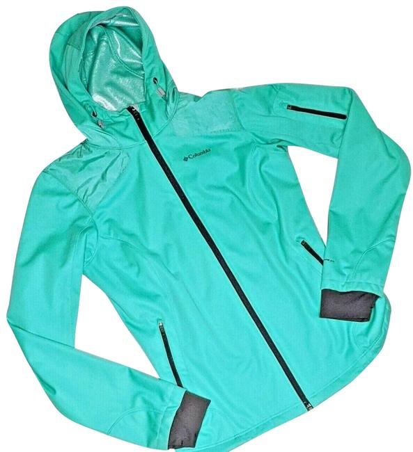 Item - Green Thermal Comfort Omni-heat Shield Activewear Outerwear Size 4 (S)