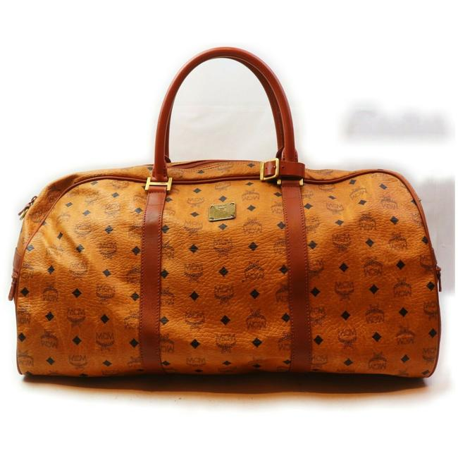 Item - Duffle Coganc Monogram Visetos Boston 862367 Light Brown Coated Canvas Weekend/Travel Bag