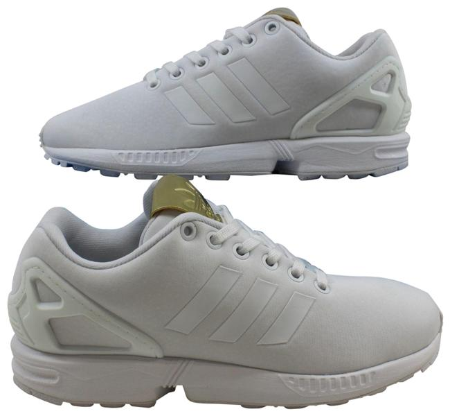 Item - White/White-gold W Zx Flux By9216 Sneakers Size US 5.5 Regular (M, B)