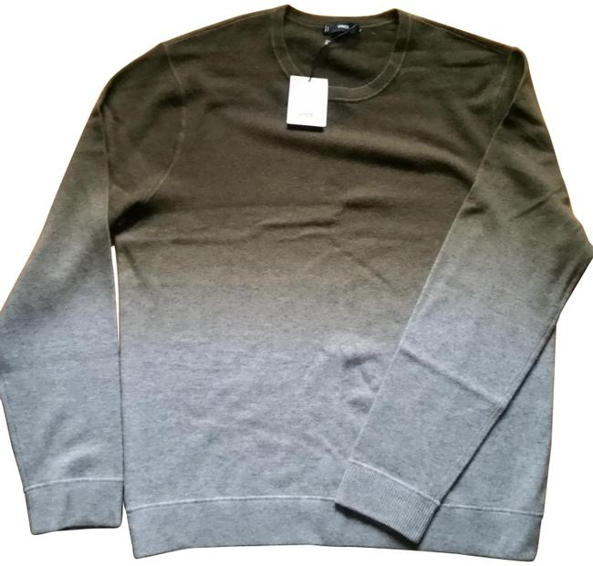 Item - Ombre (Nwt) Wool Cashmere Olive Grey Sweater