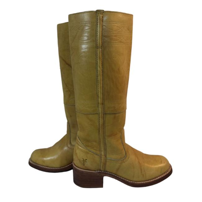 Item - Yellow 77370 Campus Stitching Horse Banana Leather Boots/Booties Size US 6.5 Regular (M, B)
