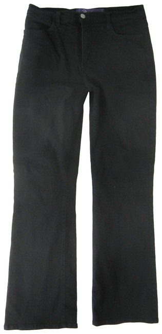 Item - Black Dark Rinse Boot Cut Jeans Size 33 (10, M)