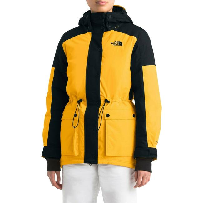 Item - Yellow Women's Reign On Down Hooded Parka Medium Coat Size 10 (M)