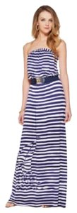 Navy/White Striped Maxi Dress by Lilly Pulitzer
