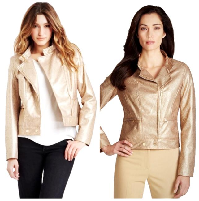 Preload https://item5.tradesy.com/images/anne-klein-gold-dust-snake-print-motorcycle-size-8-m-2839324-0-0.jpg?width=400&height=650