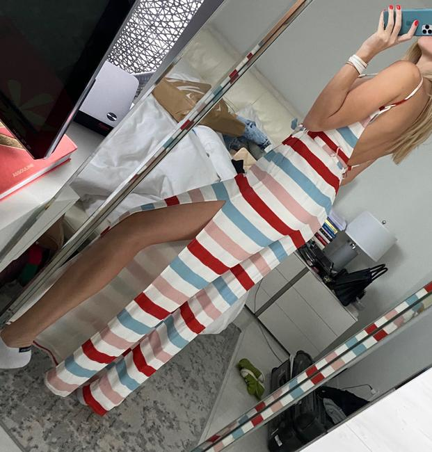 Lovers + Friends White Blue Red Pink . Romper/Jumpsuit Lovers + Friends White Blue Red Pink . Romper/Jumpsuit Image 3