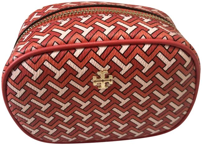 Item - Red Pouch T Zag Cosmetic Bag