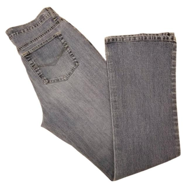 Item - Blue Medium Wash High Rise 10m Boot Cut Jeans Size 33 (10, M)