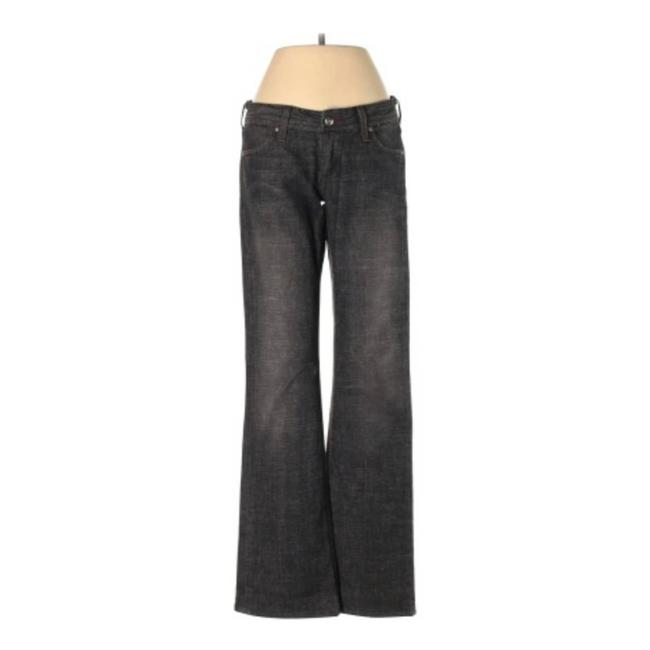 Item - Black Out Low Rise ~ Flare Leg Jeans Size 25 (2, XS)