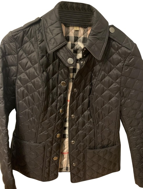 Item - Black Diamond Quilted Jacket Size 2 (XS)