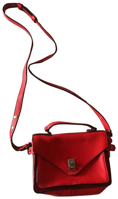 Item - Messenger Darren Small Red/Orange Leather Cross Body Bag