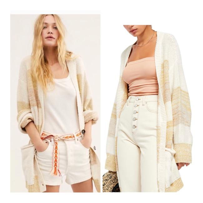 Free People Grains Combo XS Southport Oversize Cardigan/Sz:xs/Nwt Cardigan Size 2 (XS) Free People Grains Combo XS Southport Oversize Cardigan/Sz:xs/Nwt Cardigan Size 2 (XS) Image 1