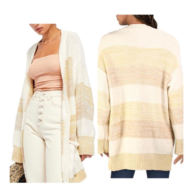 Free People Grains Combo XS Southport Oversize Cardigan/Sz:xs/Nwt Cardigan Size 2 (XS) Free People Grains Combo XS Southport Oversize Cardigan/Sz:xs/Nwt Cardigan Size 2 (XS) Image 2