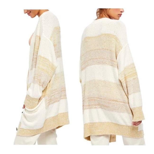 Free People Grains Combo XS Southport Oversize Cardigan/Sz:xs/Nwt Cardigan Size 2 (XS) Free People Grains Combo XS Southport Oversize Cardigan/Sz:xs/Nwt Cardigan Size 2 (XS) Image 3
