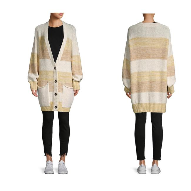 Free People Grains Combo XS Southport Oversize Cardigan/Sz:xs/Nwt Cardigan Size 2 (XS) Free People Grains Combo XS Southport Oversize Cardigan/Sz:xs/Nwt Cardigan Size 2 (XS) Image 4