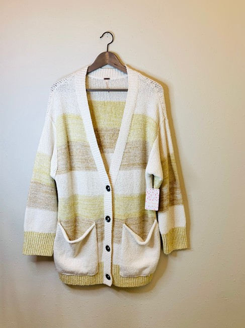 Free People Grains Combo XS Southport Oversize Cardigan/Sz:xs/Nwt Cardigan Size 2 (XS) Free People Grains Combo XS Southport Oversize Cardigan/Sz:xs/Nwt Cardigan Size 2 (XS) Image 5