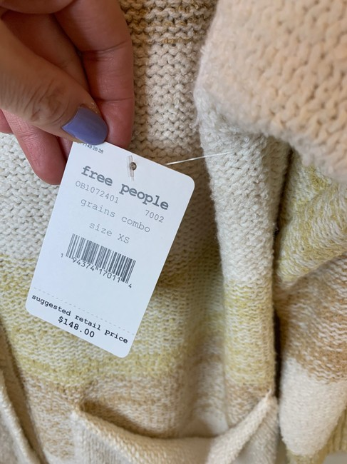 Free People Grains Combo XS Southport Oversize Cardigan/Sz:xs/Nwt Cardigan Size 2 (XS) Free People Grains Combo XS Southport Oversize Cardigan/Sz:xs/Nwt Cardigan Size 2 (XS) Image 7