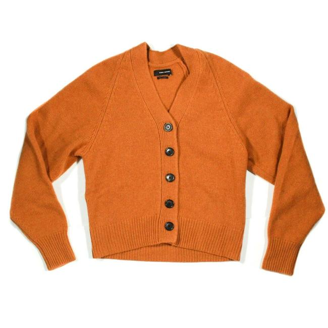 Item - Mustard Orange Saffron Caliba Cashmere Sweater - Us - 36 Cardigan Size 4 (S)