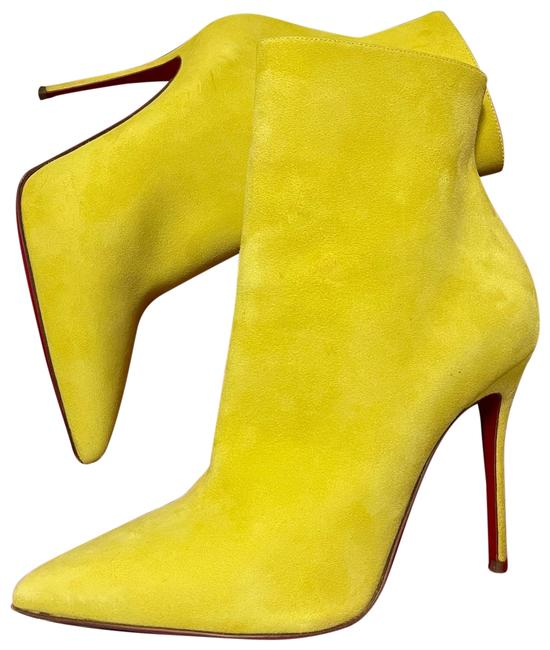 Item - Yellow Suede So Kate 100 Boots/Booties Size EU 39 (Approx. US 9) Regular (M, B)