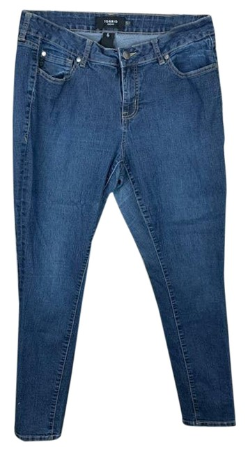 Item - Blue 12s High Rise Skinny Jeans Size 32 (8, M)