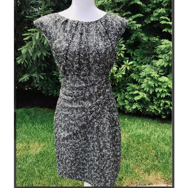 Item - Gray Sequin Cocktail Dress Size 6 (S)