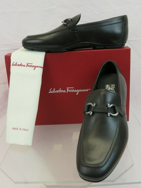 Item - Brown Nowell 2 Leather Gancini Bit Driving Loafers Us 9.5 Ee Shoes