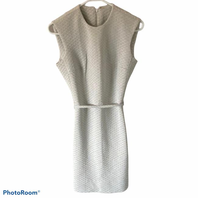 Item - Silver Justin Mccarty Mid-length Cocktail Dress Size OS (one size)