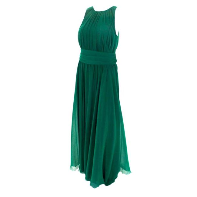 Item - Green • Flourite Emerald Gala Gown Long Night Out Dress Size 14 (L)