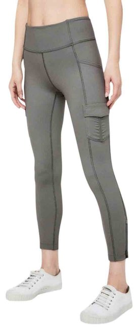 Item - Grey Sage Scenic Route Tight *25in. Activewear Bottoms Size 4 (S)