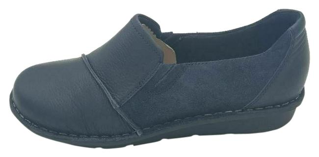 Item - Blue W Collection By Womens Slip On Low Top Cap Toe New Flats Size US 9 Wide (C, D)