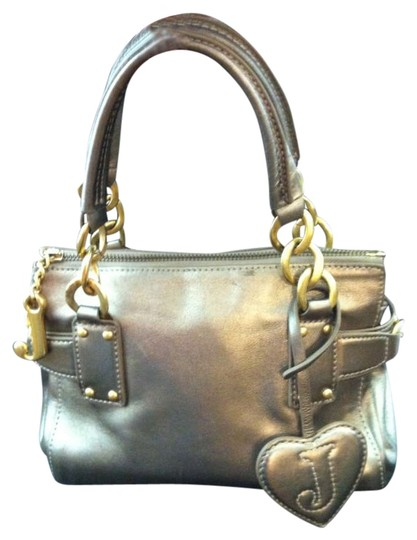 Preload https://item4.tradesy.com/images/juicy-couture-mini-gold-metallic-leather-satchel-283978-0-0.jpg?width=440&height=440