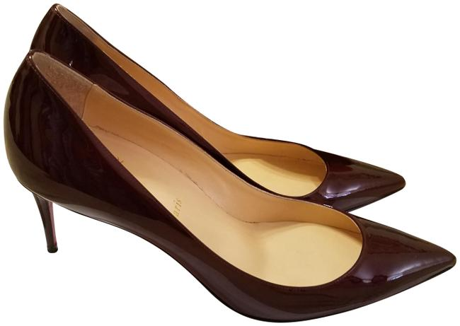 Item - Burgundy Patent Leather Pumps Size US 10 Narrow (Aa, N)