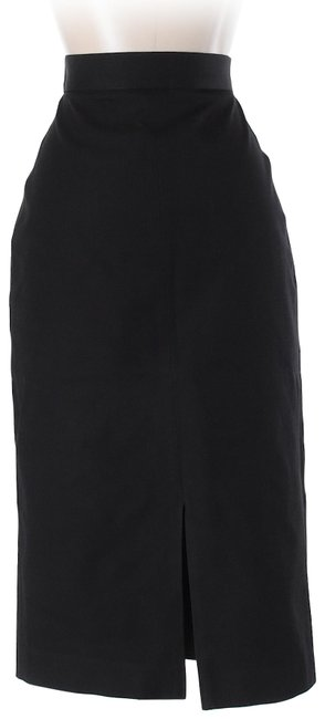 Item - Black Straight A-line Stretch High Rise Skirt Size 0 (XS, 25)