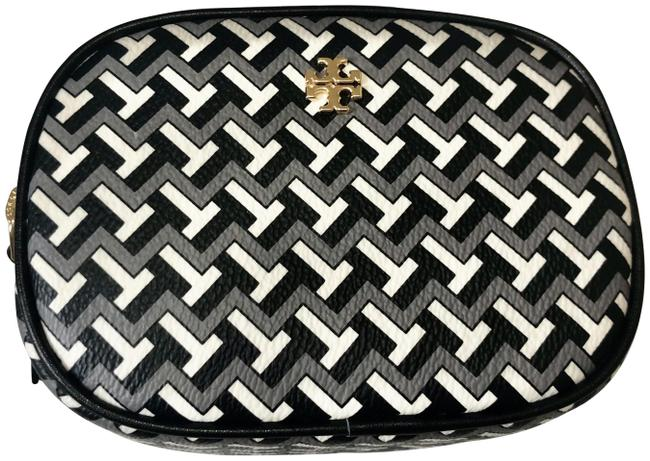 Item - Black Tzag Allover Pouch Cosmetic Bag