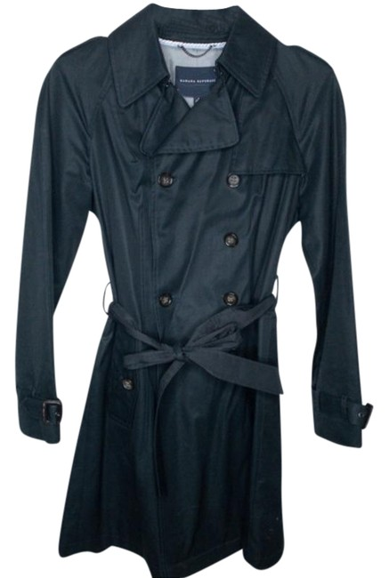 Item - Black Rain Wrap Coat Size Petite 4 (S)