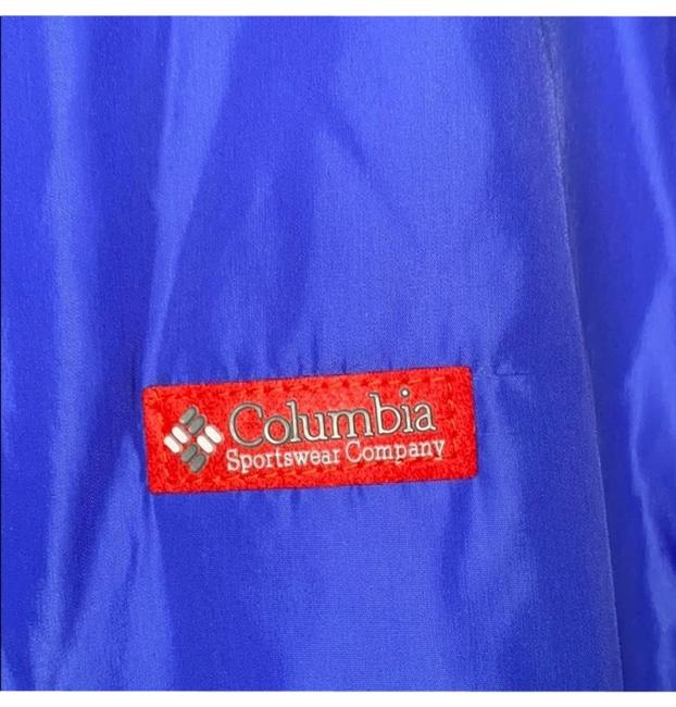 Item - Red and Blue Bomber Coat Size 10 (M)