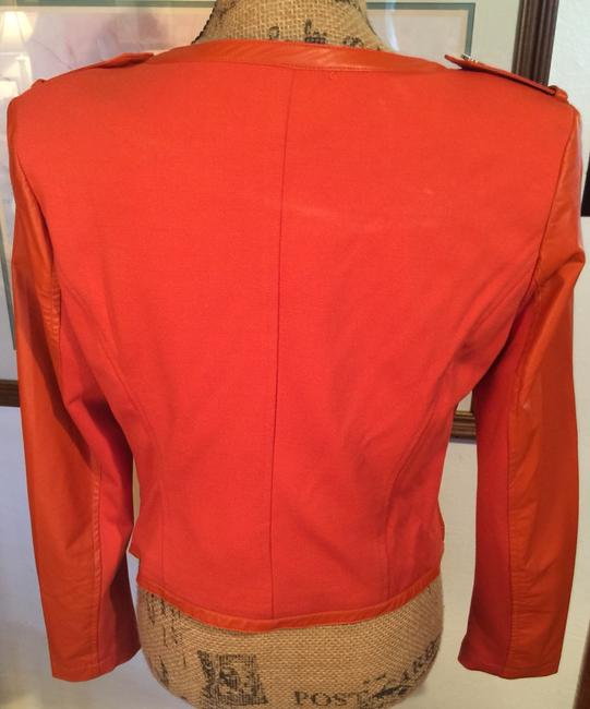 Mary L Couture Orange w Gold Accents Jacket