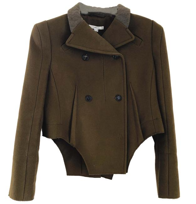 Item - Brown Wool Military / Riding Style Jacket Coat Size 10 (M)